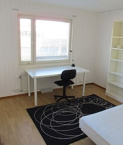 Spacious room w balkony - Uppsala
