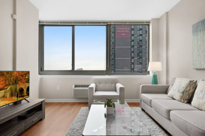 Private&Clean 1BR | Workspace | Jersey City by GLS