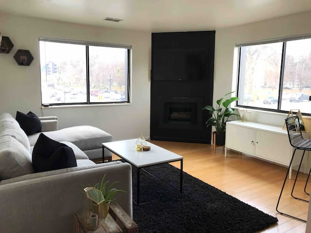 Cozy 1BR steps from Downtown Library