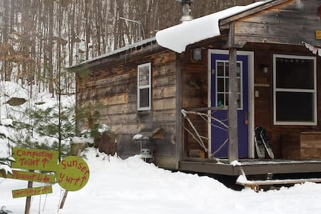 """Harmony""~ Off-the-Grid Solar Cabin - Denmark - Cottage"