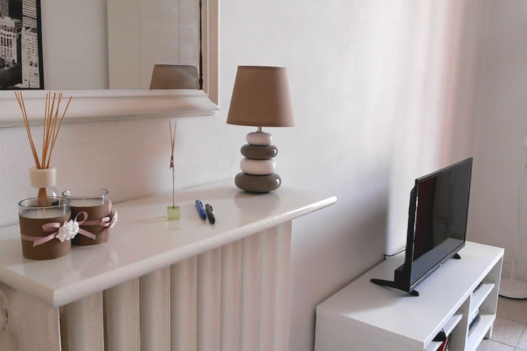 Particolare del soggiorno / Living room detail