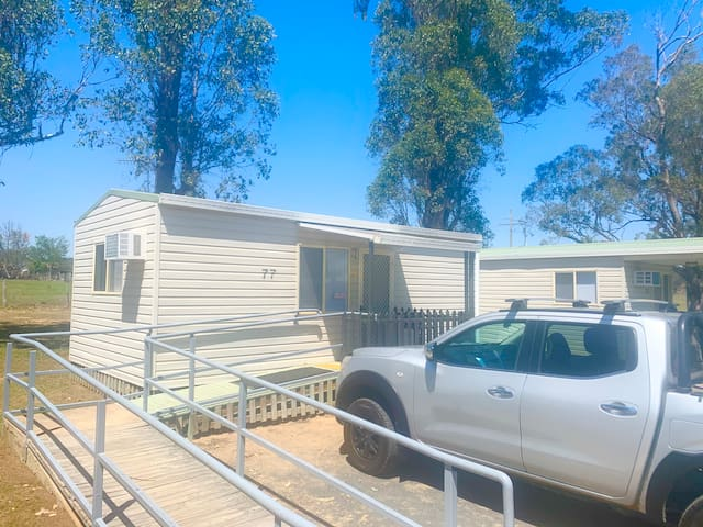 """Crows """"Accessible"""" Cabin (Twin Singles) + Bunks"""