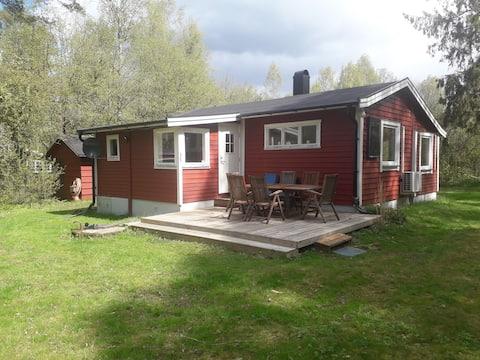 Ren och fridfull stuga i Forestad nära Röstånga
