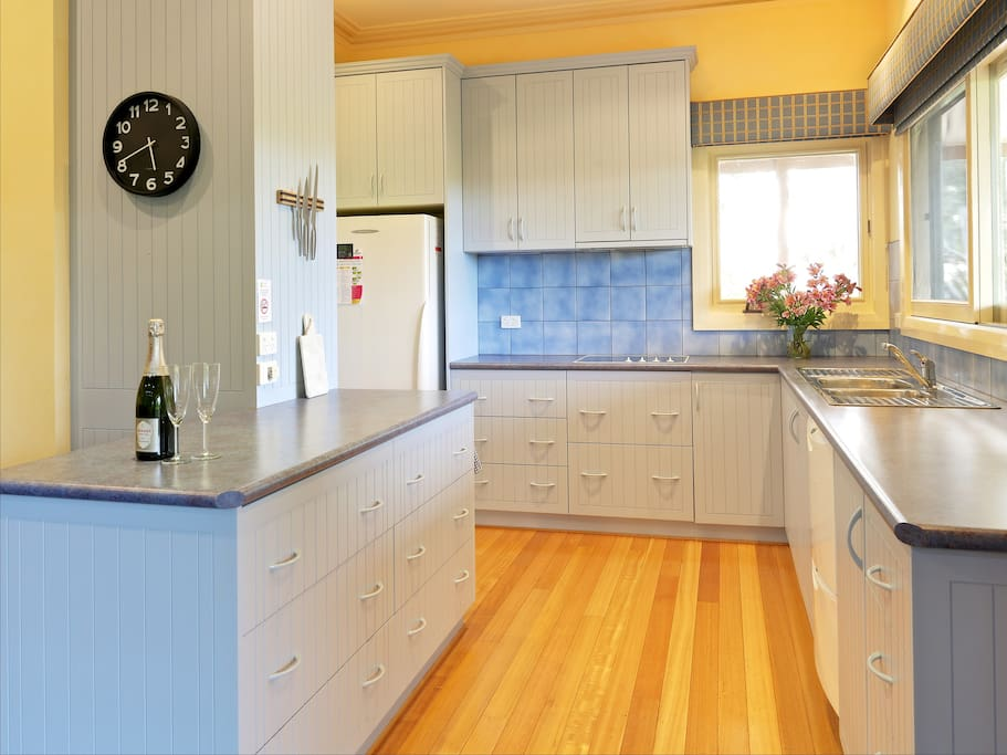 Kitchen with all the modern comforts