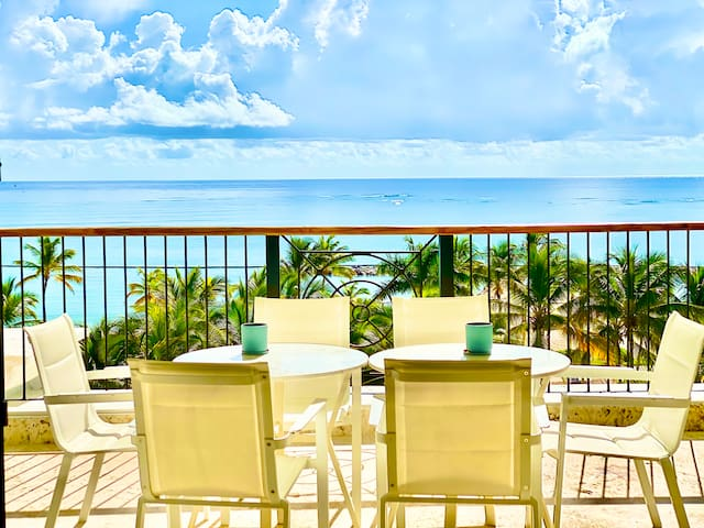 LUXURY OCEAN FRONT 3 BEDROOM APARTMENT WITH MAID