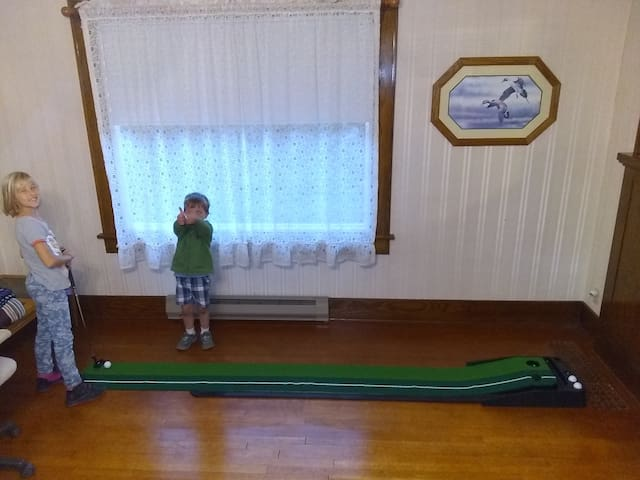 Putting Green means fun for all ages!