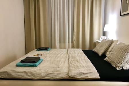 Spacious room + WiFi + private balcony. - Praga
