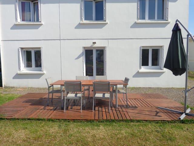 appartement en rez de jardin de ma maison