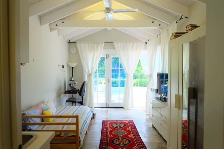 A Bright Studio Open to a Lovely Reserve at Pymble