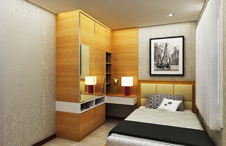 808 Sqft: 2 Bedrooms Seaside Condo w/ Oceanview. - Penjaringan - Condominium