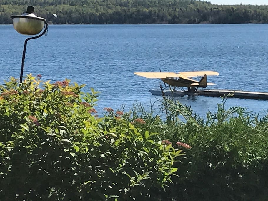 Hydroplane in Meldrum Bay, Lake Huron