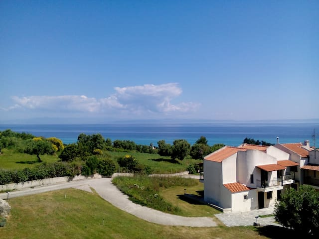 Breathtaking view  Roula's  home Hanioti Halkidiki