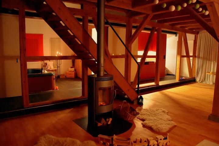 Romantisches Chalet zum Entspannen in Langenthal