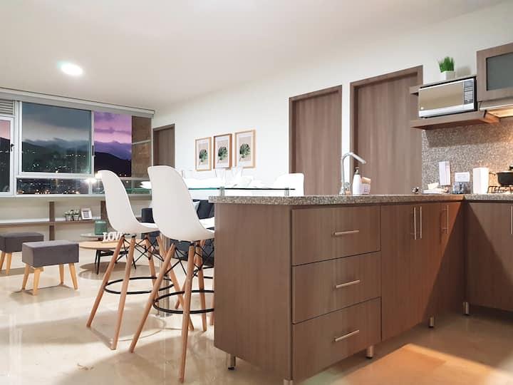 Apartamento en Cali, hermoso e iluminado - 506