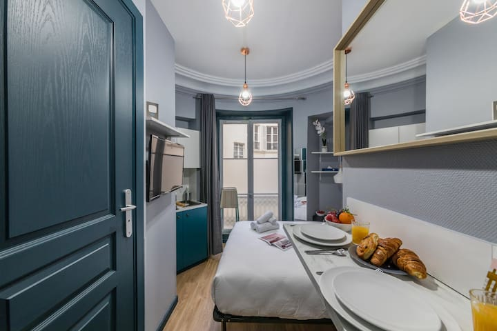 Grands Magasins - Opéra 31: cosy apt. for 2