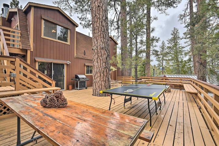 Book a trip to this lavish 4-bedroom, 2-bathroom vacation rental cottage for 16.