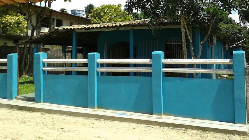 Casa confortável na Ilha paradisíaca de Algodoal.