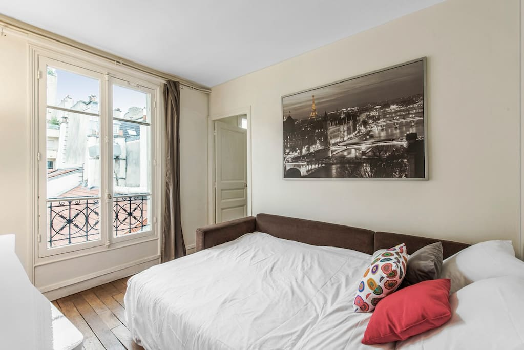 Nice apartment 4 guests in Passy close Tour Eiffel