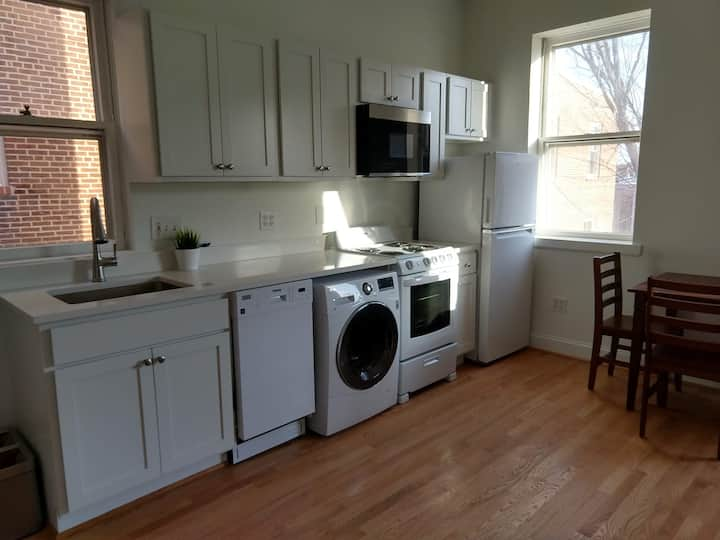 Charming Studio Apt Steps from The Capitol & Metro