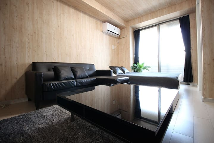 40sqm Namba4min/Shinsaibashi6min☆Same Price UpTo 6