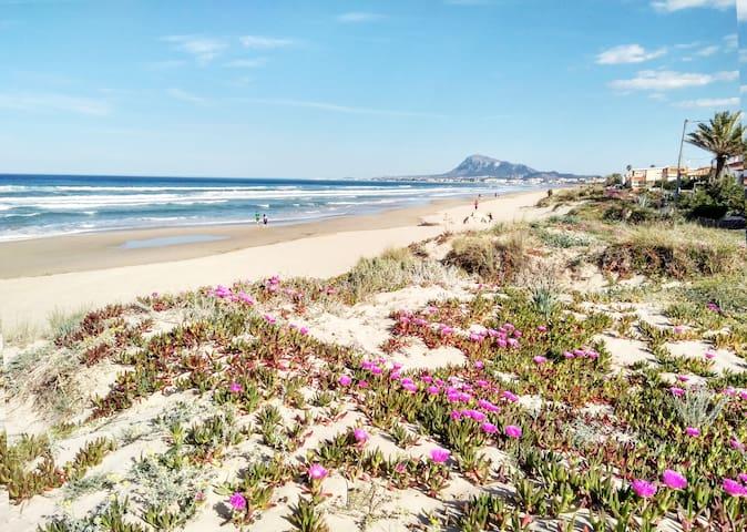 Adosado a 170 metros de la mejor playa de Denia