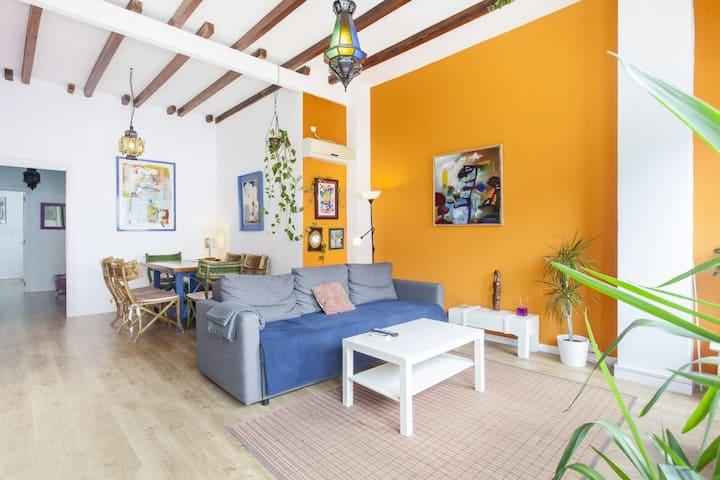 Apartamento Ruzafa Centro I.Wi-Fi. Air Conditioner
