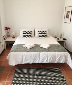 Nice bedroom + bathroom on a terrace in the center - Tavira