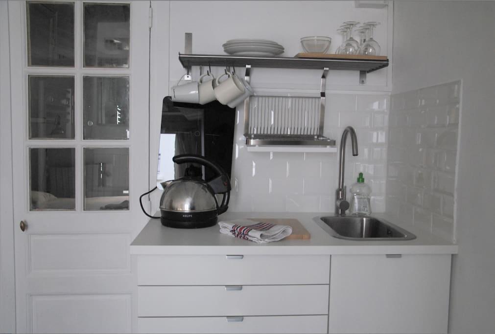 kitchennette équipée