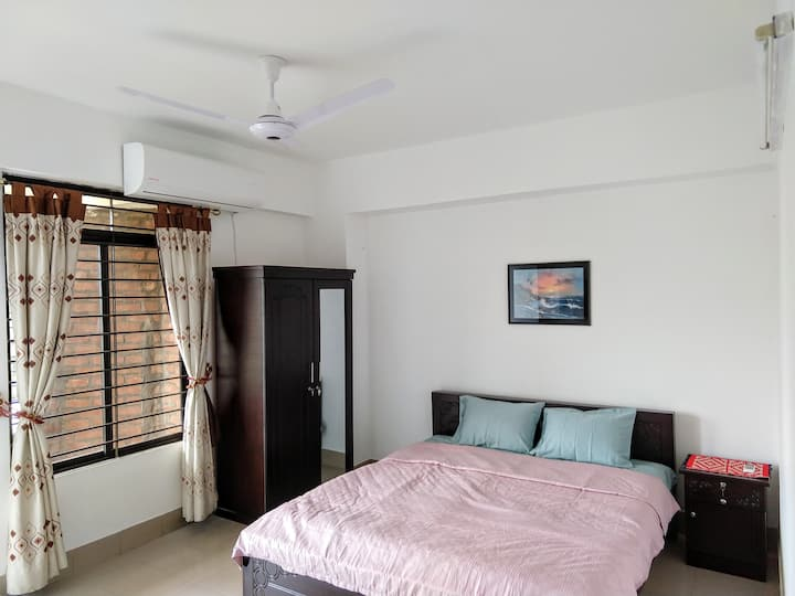 At Dhanmondi 11/A Furnished 2 Bed/2 Bath Apartment
