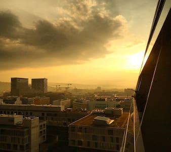 Big terrace apartment with a view - Zurique