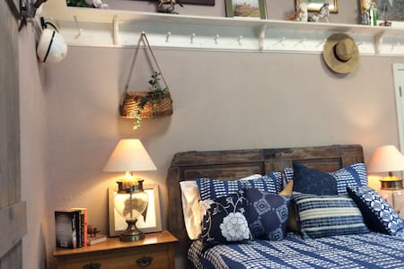 Heart of Horse Country Glam tack room studio apt.