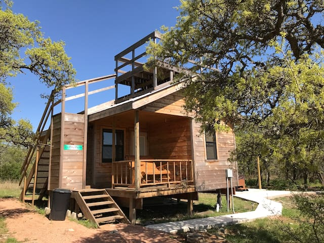 The Milky Way Cabin at Walnut Canyon Cabins