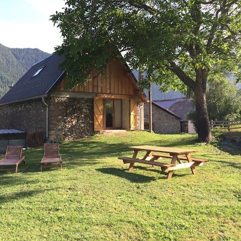 La grange de Saint Roch, Mercantour