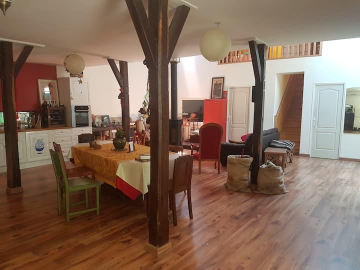 Maison Loft au coeur de Nevers