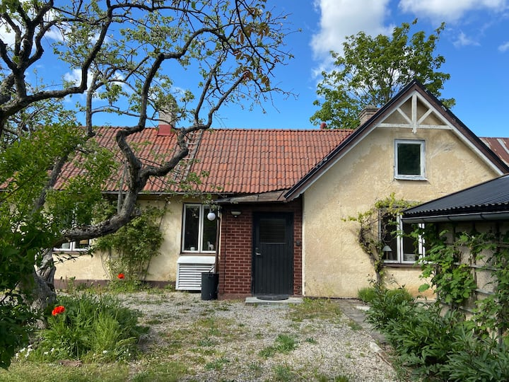 Welcome to a charming garden house in Visby!