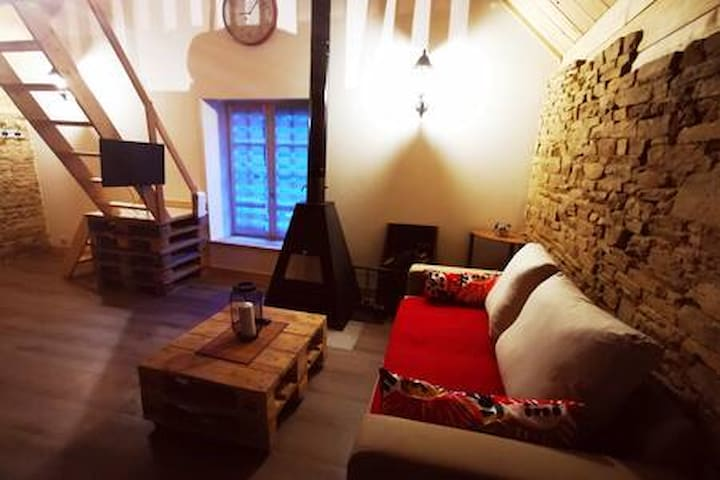 logement cosy et original  à la campagne