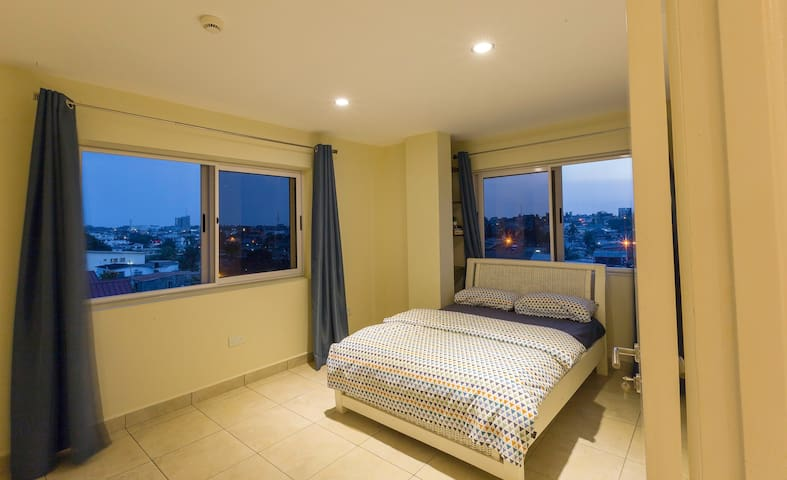 Enjoy the sunset from your bedroom