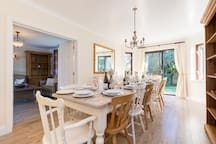 Dining Room with seating for 14 (extendable to 18)