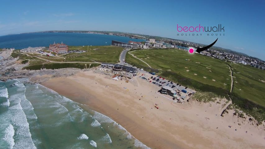 Beachwalk Fistral NOW TAKING BOOKINGS FOR 2021