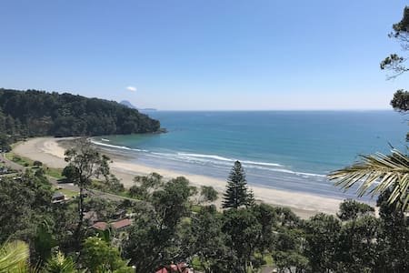 Spectacular cliff cabin with sweeping beach views - Ohope - Lomamökki