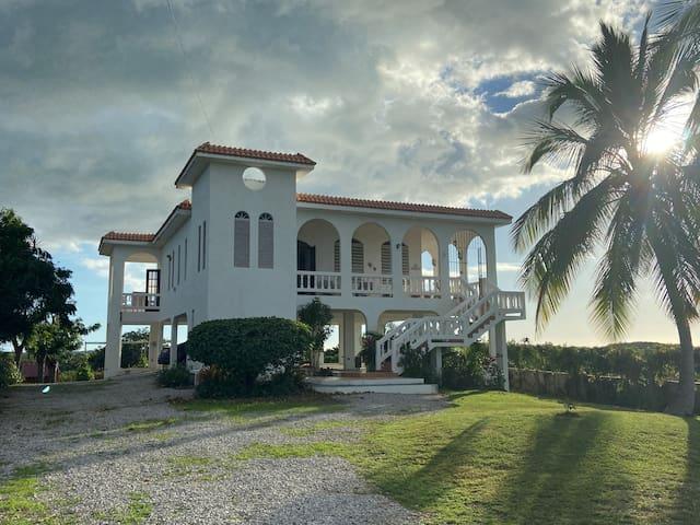 Buye, Boqueron, Cabo Rojo, hilltop views, house