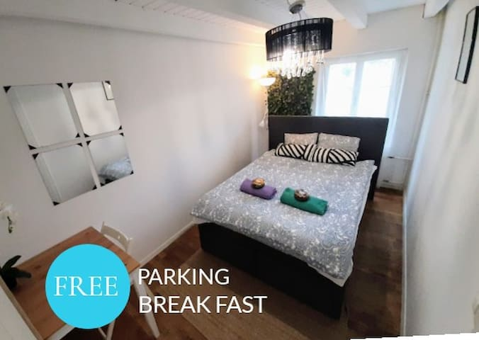 Guesthouse Zürich Adliswil -double Bed Room #106💑