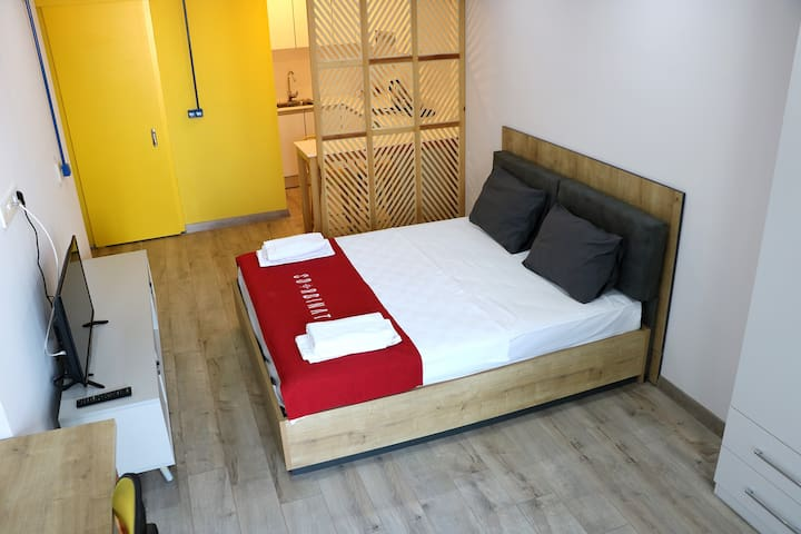 1+0 GRAND STUDIO DOUBLE BED OTEL CONCEPT