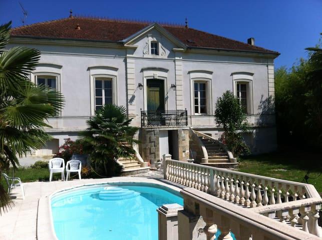 Maison de charme, piscine et jardin - Saint-Macaire - Casa