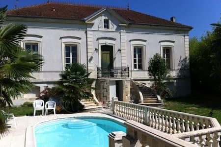 Maison de charme, piscine et jardin - Saint-Macaire
