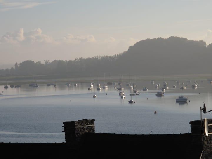 Cabanon de pêcheur vue mer,  Région St Malo