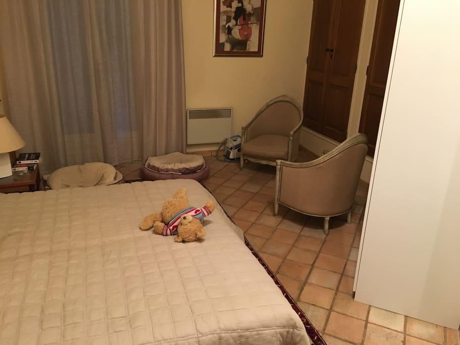 Chambre 1 lit 180