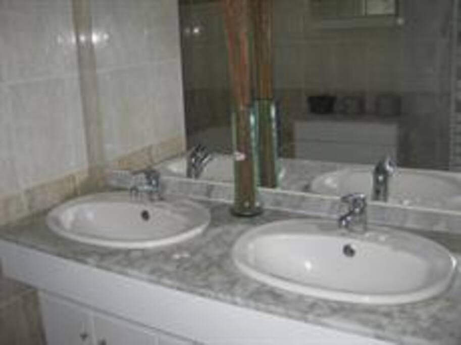 salle de bains 2 vasques