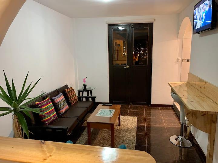 Apartamento con vista panorámica en San Blas