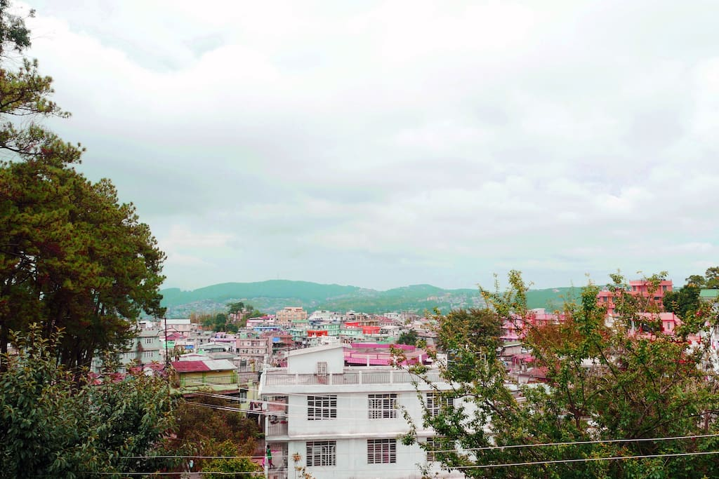 The Breathtaking View of Shillong